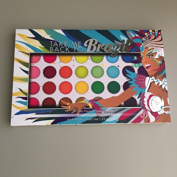 Bh Cosmetics Makeup Today Only Take Me Back To Brazil Palette
